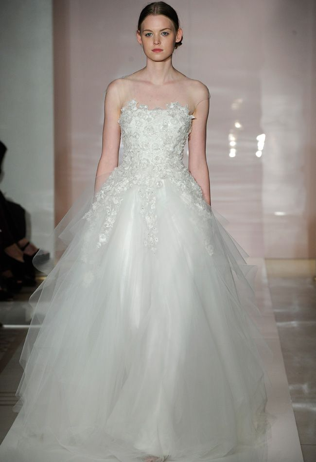 Reem Acra Fall 2014 Wedding Dresses | Wedding dress, Wedding dresses ...