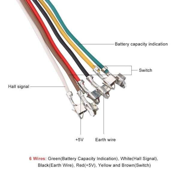 Ebike Electric Scooter Wiring Diagram And V Thumb Throttle