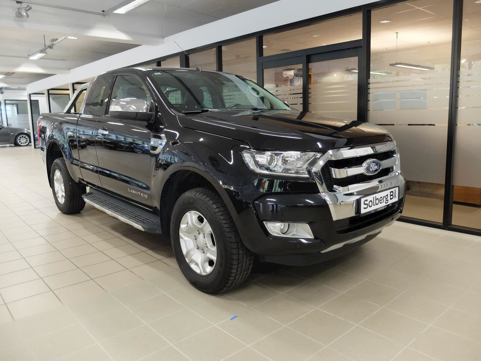 2017 Ford Ranger Super Cab 3 2 Limited 6 Automatic Norway Version