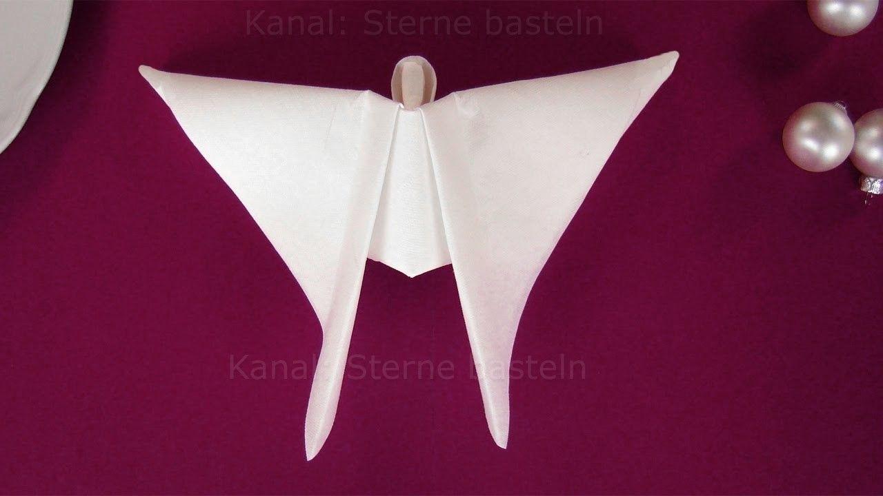 Brilliant Weihnachtsdeko Aus Papier Sammlung Von Engel Basteln Mit Papier-servietten. Basteln Weihnachten: Weihnachtsengel
