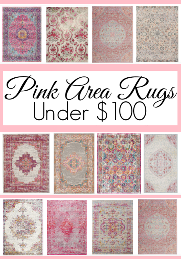 12 Pink Area Rugs Under 100 Rugs Cottage Bedroom Decor Area Rugs