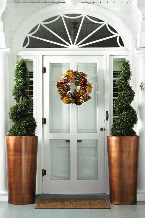 Love These Planters By Front Door Or Out Back Garden And