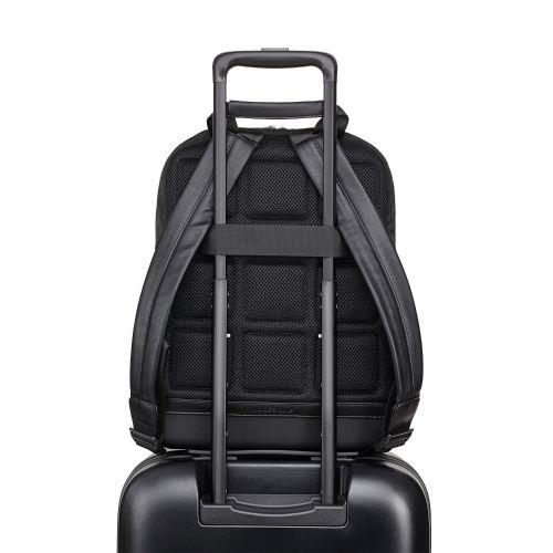 Schwarz Weißer Rucksack