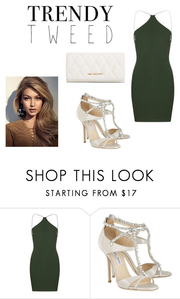 """Untitled #234"" by cams-lovatic ❤ liked on Polyvore featuring Jimmy Choo, Vera Bradley, women's clothing, women, female, woman, misses, juniors and trendytweed"