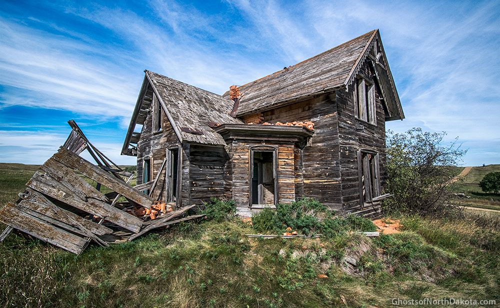 Sims North Dakota Ghost Towns Brick Towns