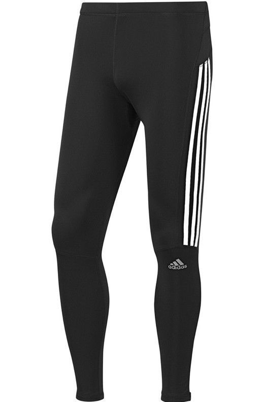 490cf948b4d0e Adidas Response Long Tights Pants Black Running D85731 Pocket $55 Mens S M  2XL #adidas #Pants