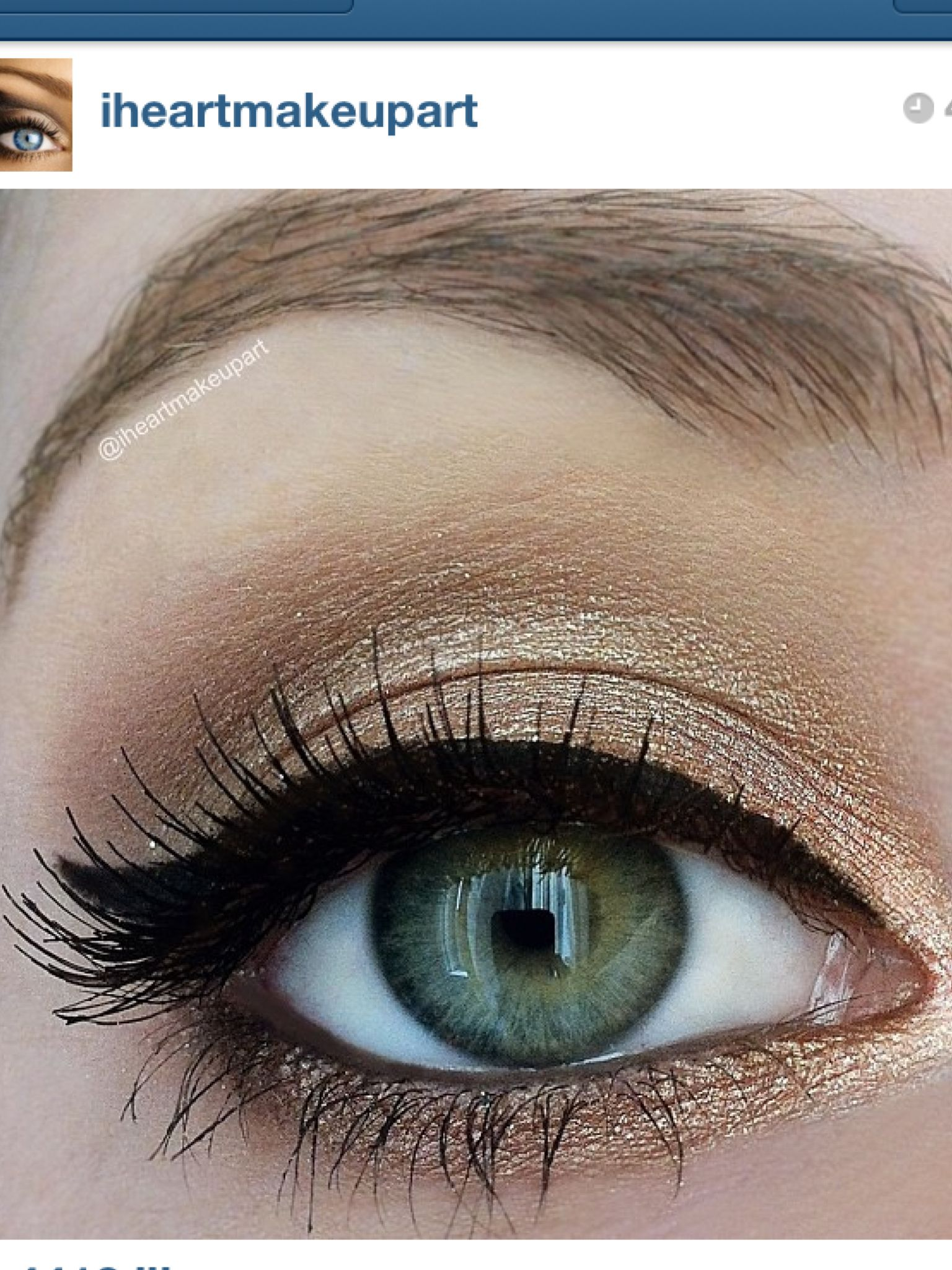 Way to bring out green eyes in 2019 Makeup, Hair makeup