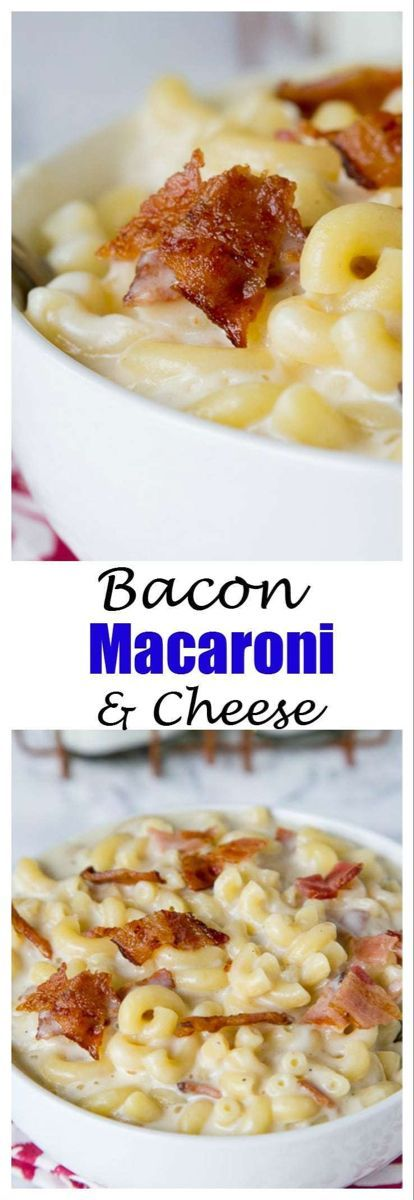Bacon Macaroni and Cheese Bacon Macaroni and Cheese Shayla Kowaleski shaylakay820 2019 Bacon Macaro