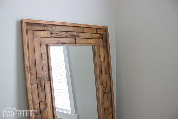 DIY Full Length Mirror | Diy full length mirrors, Diy mirror and Room