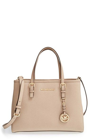 a9d404654cd4 MICHAEL Michael Kors Jet Set East/West Saffiano Leather Tote available at # Nordstrom