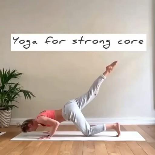 Yoga for strong core — Fitzabout