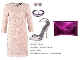 Resultado de imagen para vestido palo rosa con que colores