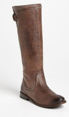 Frye Boots - Love these boots! While reading Seven Day Fiance by Rachel Harris they mention how everyone wears boots. Wonder if the heroine Angelle owns a pair like these?