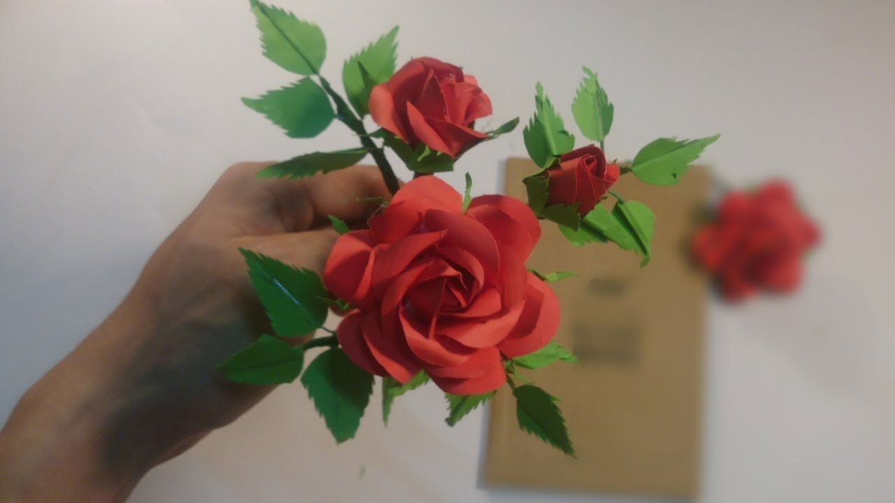 How To Make Realistic Roses With Cloth Diy Roses Easy Flower