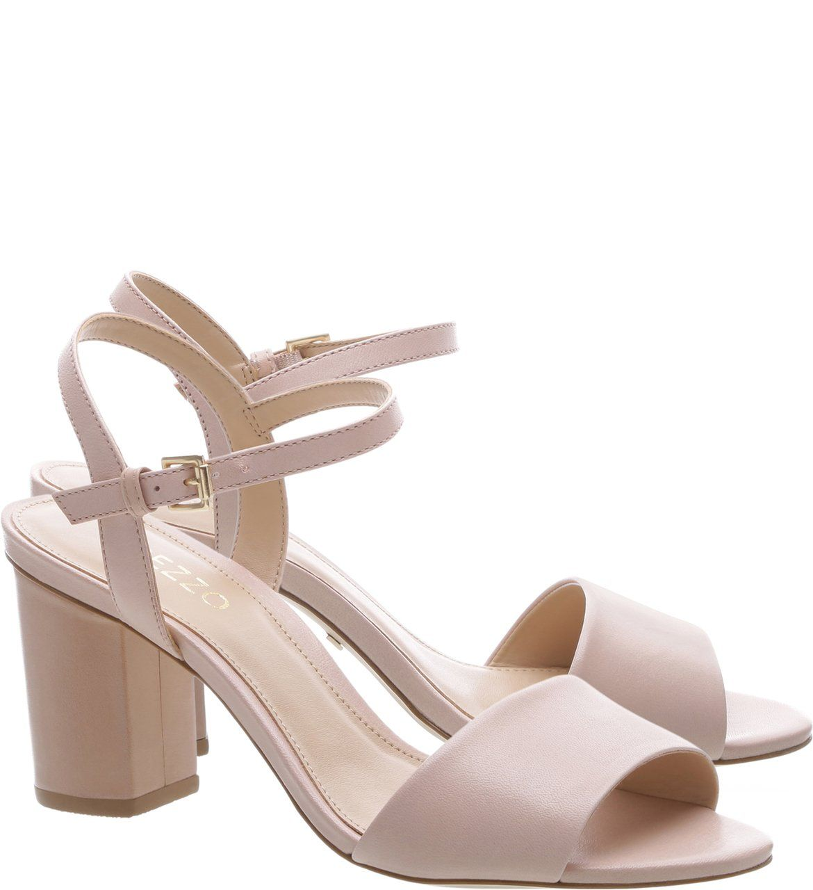 35a27eb73 Sandália Couro Salto Médio Quartzo | Arezzo | women shoes in 2019 ...