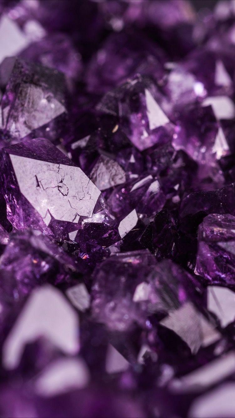 Diamante Wallpaper Iphone Wallpapers Diamante Wallpaper Iphone Wallpapers In 2020 Purple Wallpaper Purple Aesthetic Crystal Aesthetic