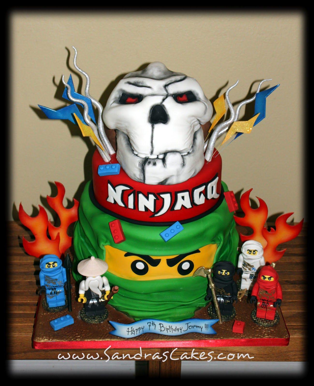 Lego Ninjago Birthday Party Google Search: Ninjago Theme On Pinterest
