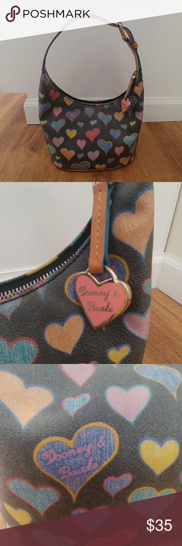 DOONEY & BOURKE Crayon Hearts Handbag  DOONEY & BOURKE Crayon Hearts Handbag #crayonheart DOONEY & BOURKE Crayon Hearts Handbag  DOONEY & BOURKE Crayon Hearts Handbag #crayonheart