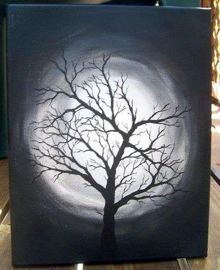 Tree Watercolor Art Il 430xn 86533479 Jpg Black Canvas