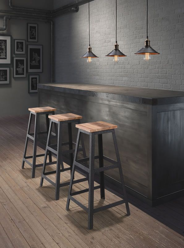 Tora Barstool Http Dommdesign Com Sign Up For Our Newsletter To Get 10 Off For Our May 11 Online Launch Sillas Muebles Hierro Y Madera Muebles De Metal