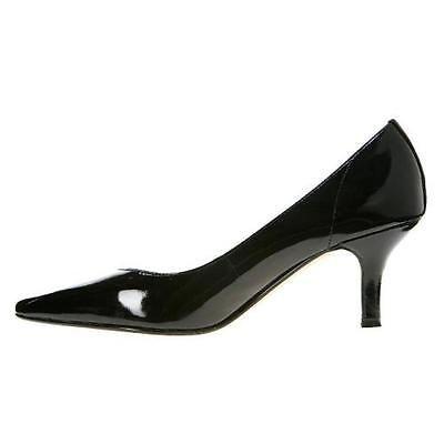 74affef56b2d New Bella Vita Womens Black Patent Pumps Heels Ladies Size 7 Extra-Wide E+  WW