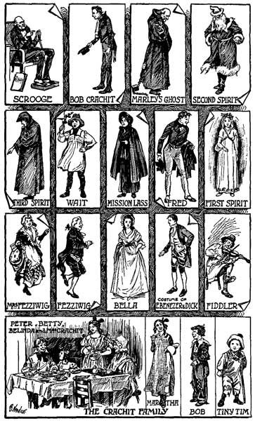 A Christmas Carol Characters.List Of Characters In A Christmas Carol Dickens
