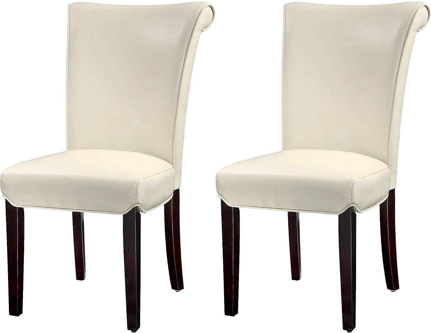 Brogan 2Piece Dining Chair Package  Ivory  Dining Chairs Ivory Fascinating Dining Room Accent Pieces 2018