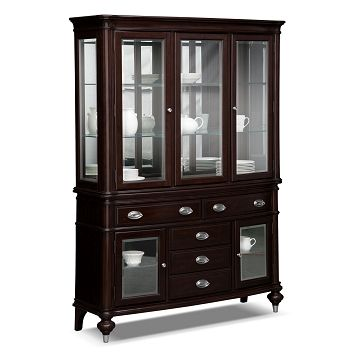 American Signature Furniture   Esquire Dining Room Buffet And Hutch  $1,099.99 Part 93