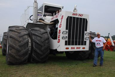 Now that's a tractor!