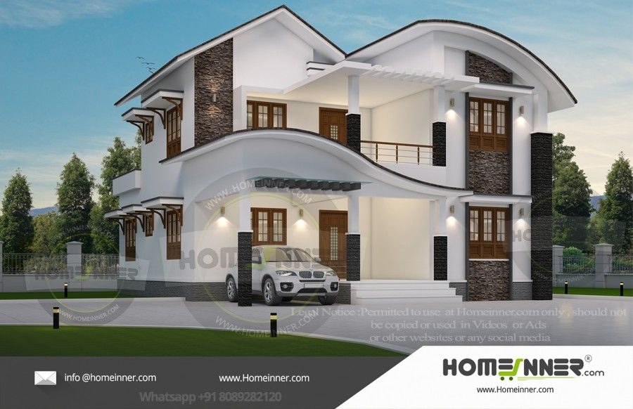 Low Budget 4 Bedroom Home Plans In Kerala Free House Plans Low Budget House House Plans