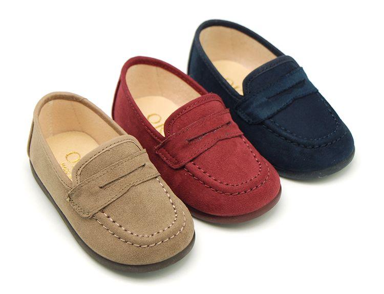 Tienda mirada detallada nueva colección Tienda online de zapatitos niño tipo mocasín para vestir en ...