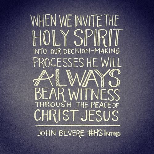 "Quotes About The Holy Spirit Custom I Love This Bookjohnbevere & Addisonbevere ""the Holy Spirit"