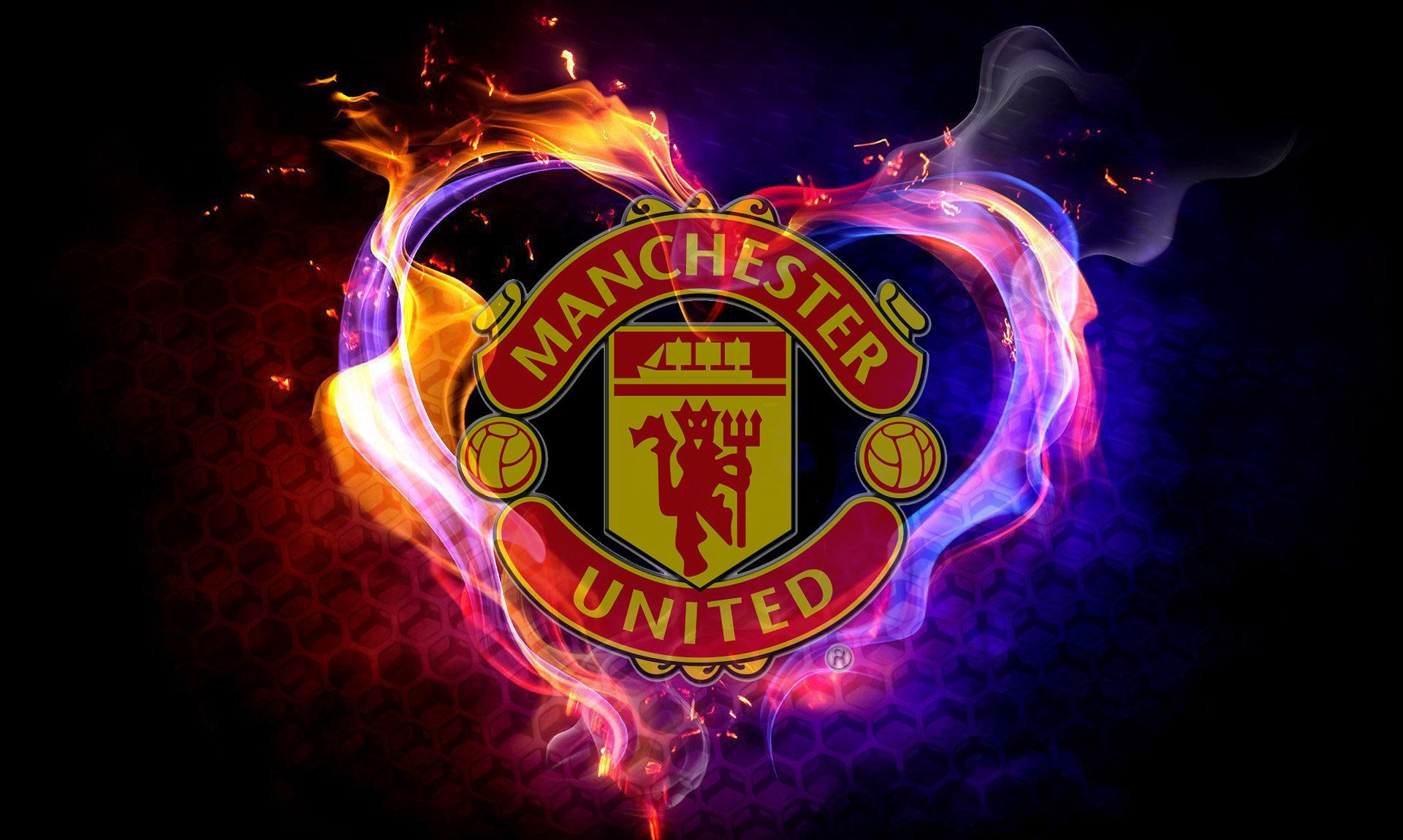 Manchester United Wallpaper Hd Pack Sky Ross 2016 06 14 Manchester United Wallpaper Manchester United Logo Manchester United Images