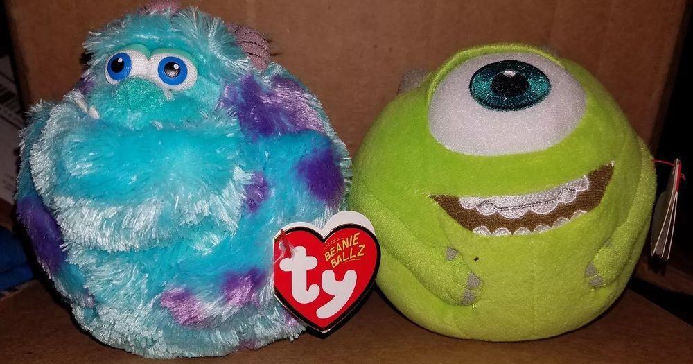 79bf65c80a6 Ty Beanie Ballz Disney Monsters Inc. 8