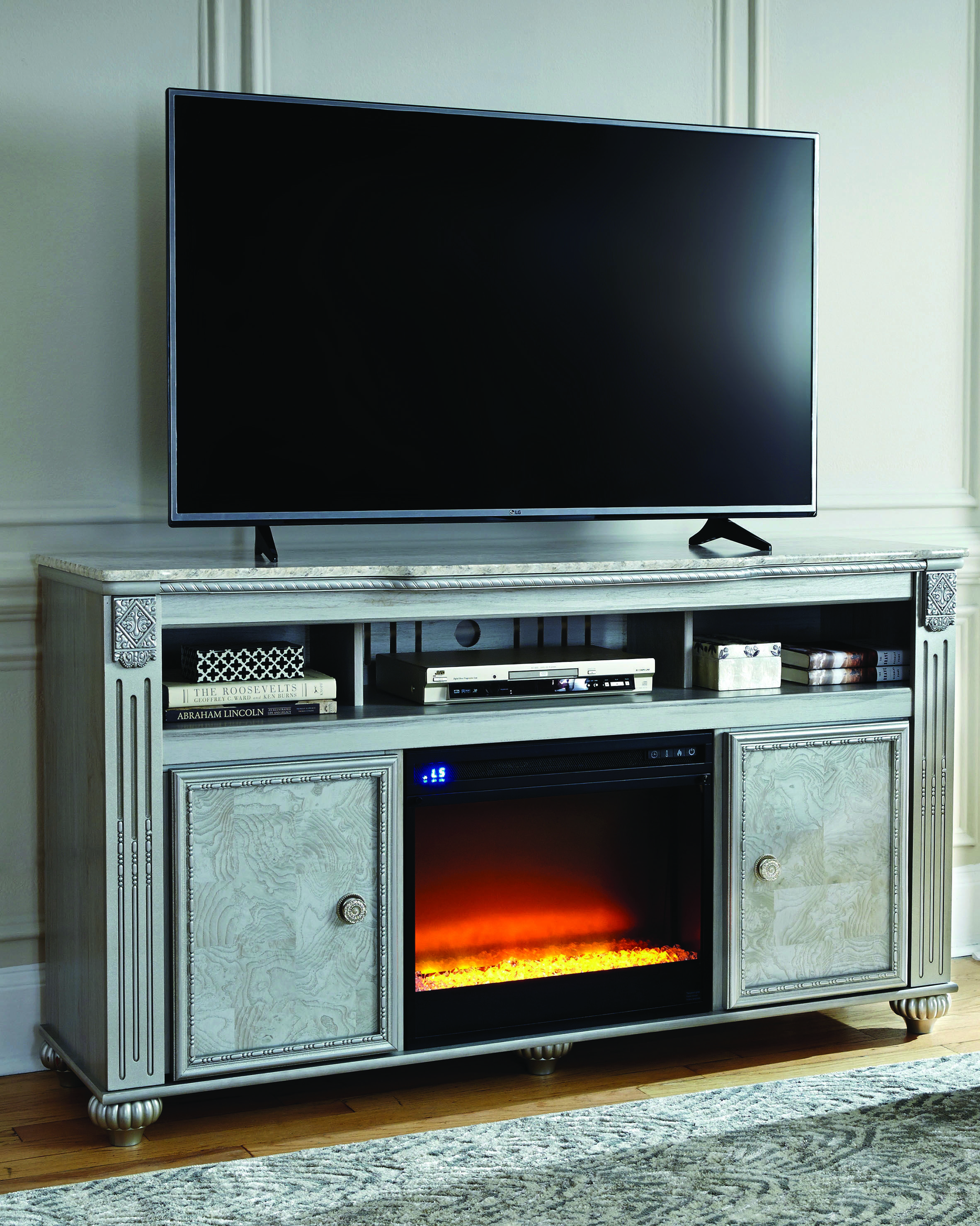 Good Fireplace Tv Stand Cardis To Refresh Your Home Fireplace Tv