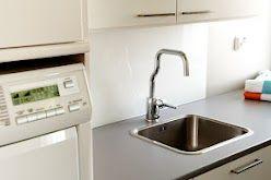 Faucet La Cucina Alessi by Oras in laundry/mud room ...