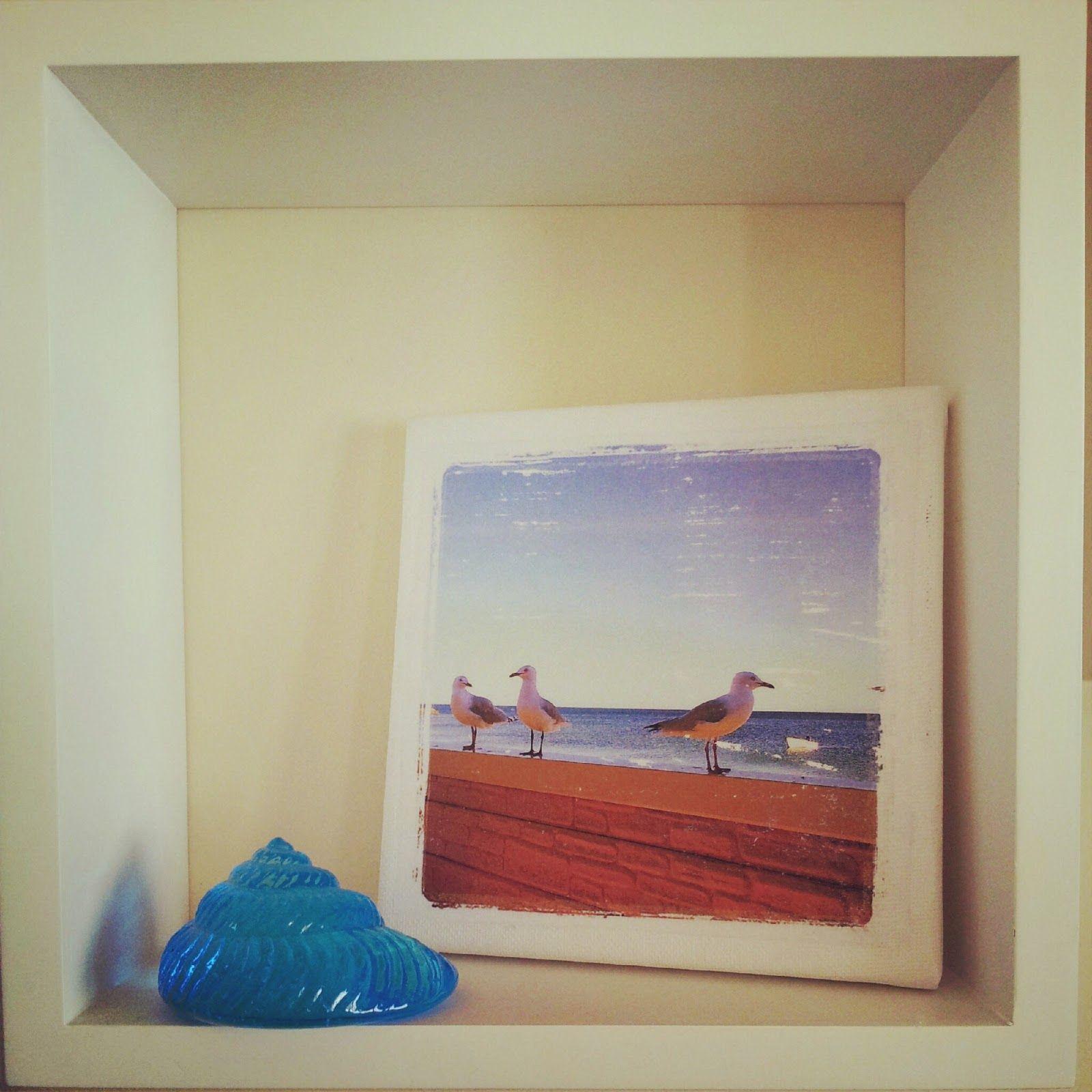 H@Home: Seagul Photo Canvas