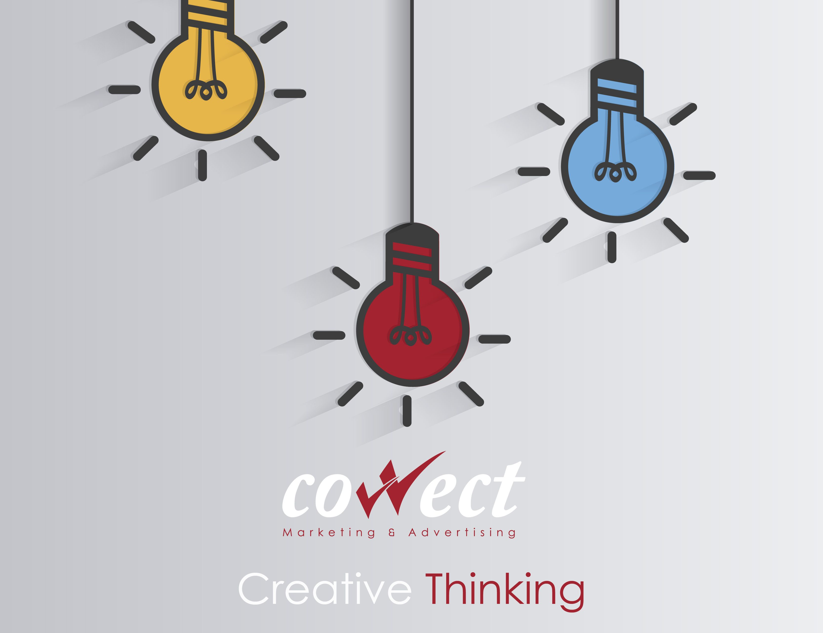 creative thinking with correct marketing Amman dubai