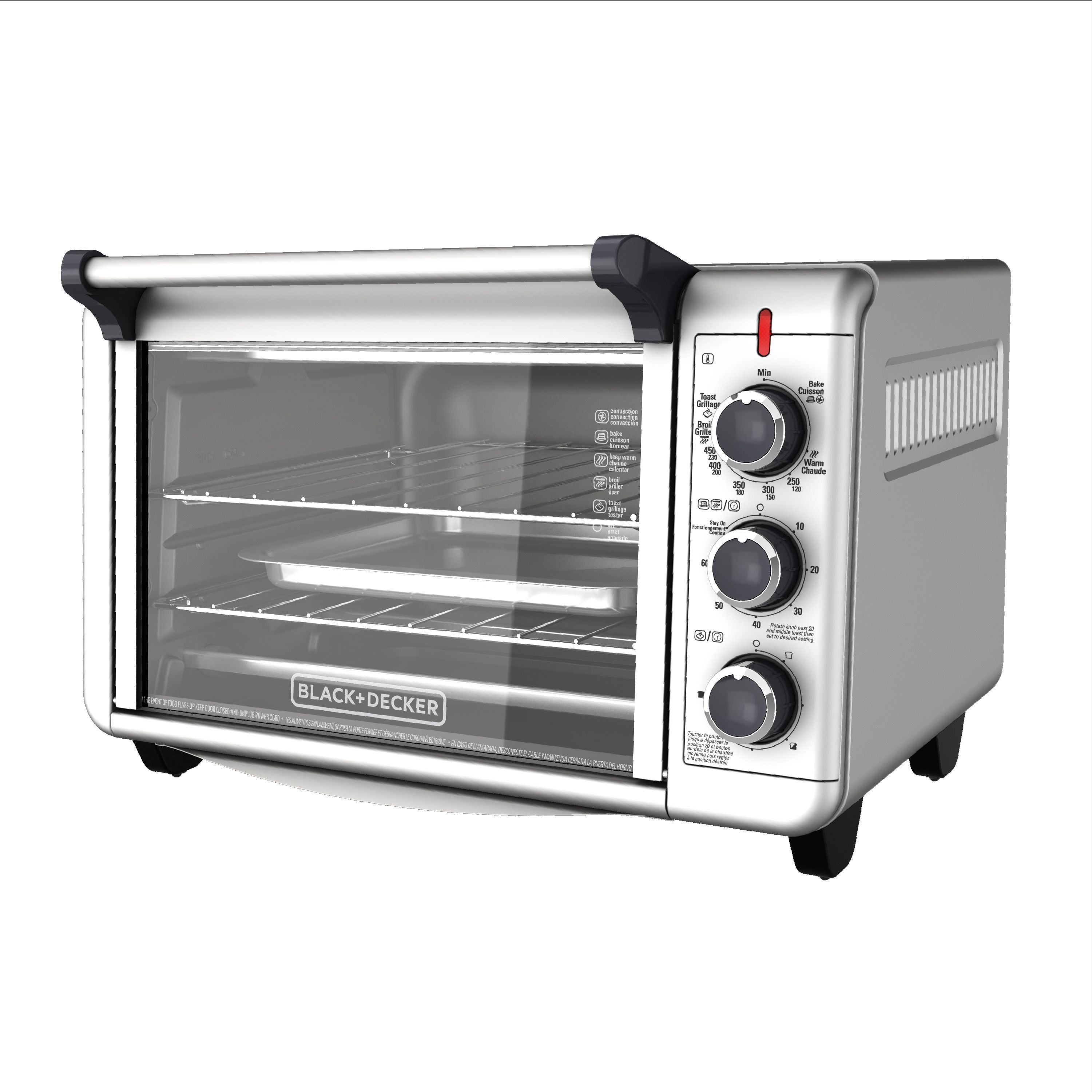 Black Decker Convection Countertop Oven Stainless Steel To3000g