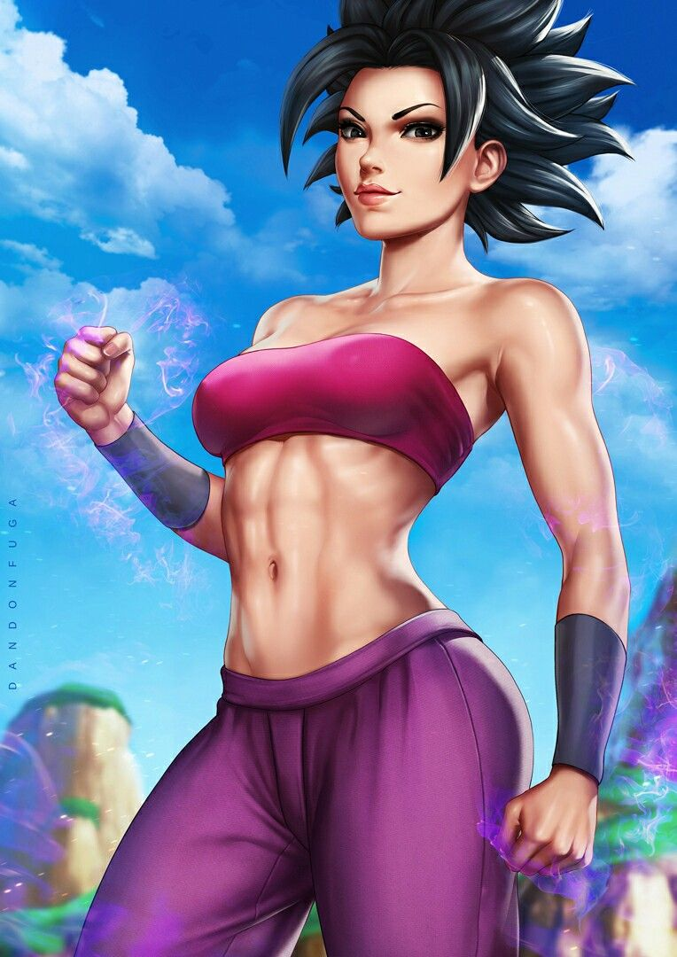 Caulifla Dbz By Dandonfuga Caulifla Hot Anime