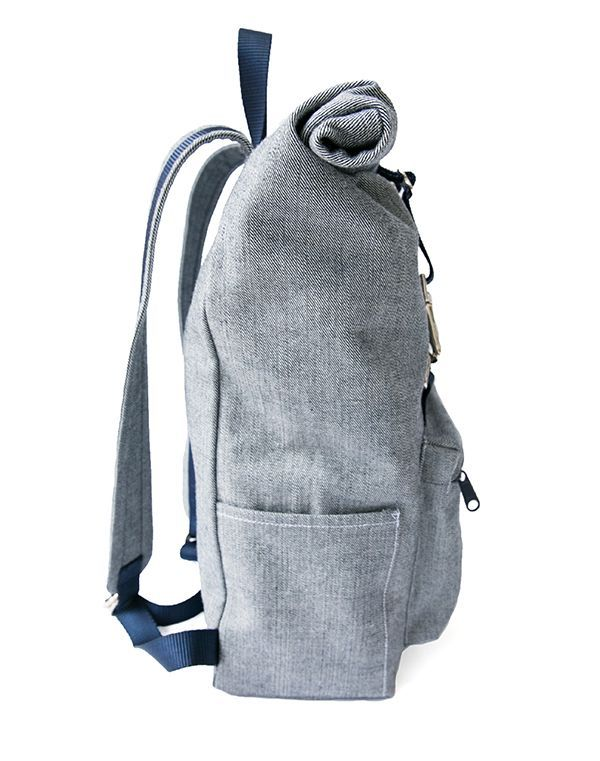7b2f96b815d6bf The Desmond Roll Top Backpack Pattern (TaylorTailor)