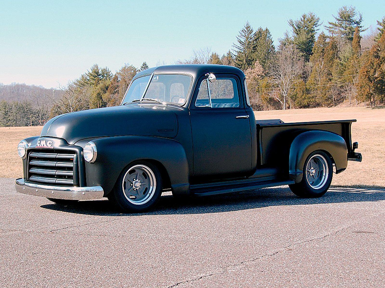 old trucks | 1948 Gmc Five Window Pickup Truck Side Body Shot Photo ...