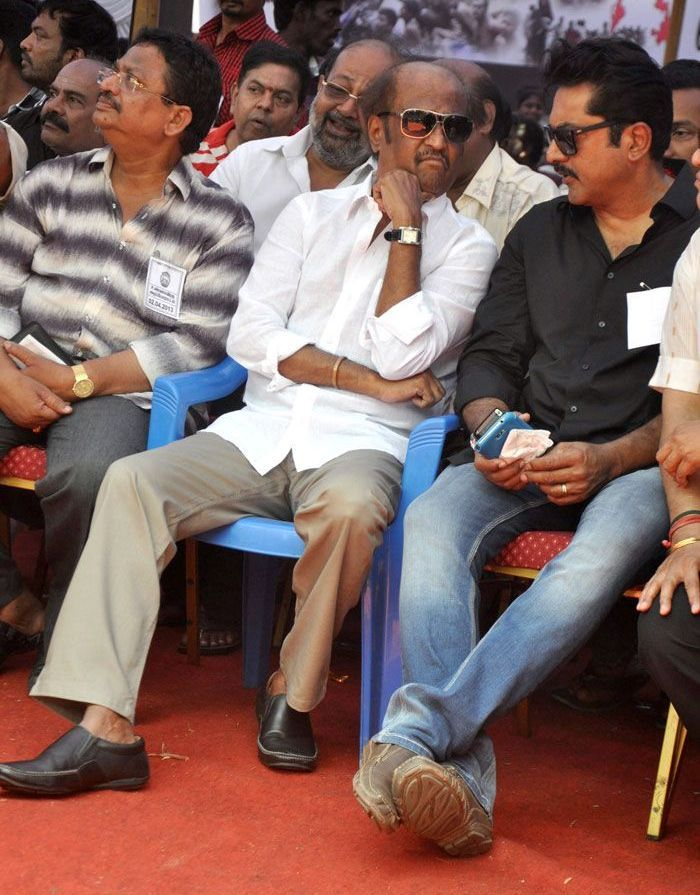 South Indian Film Artistes Association Fasting for Tamil