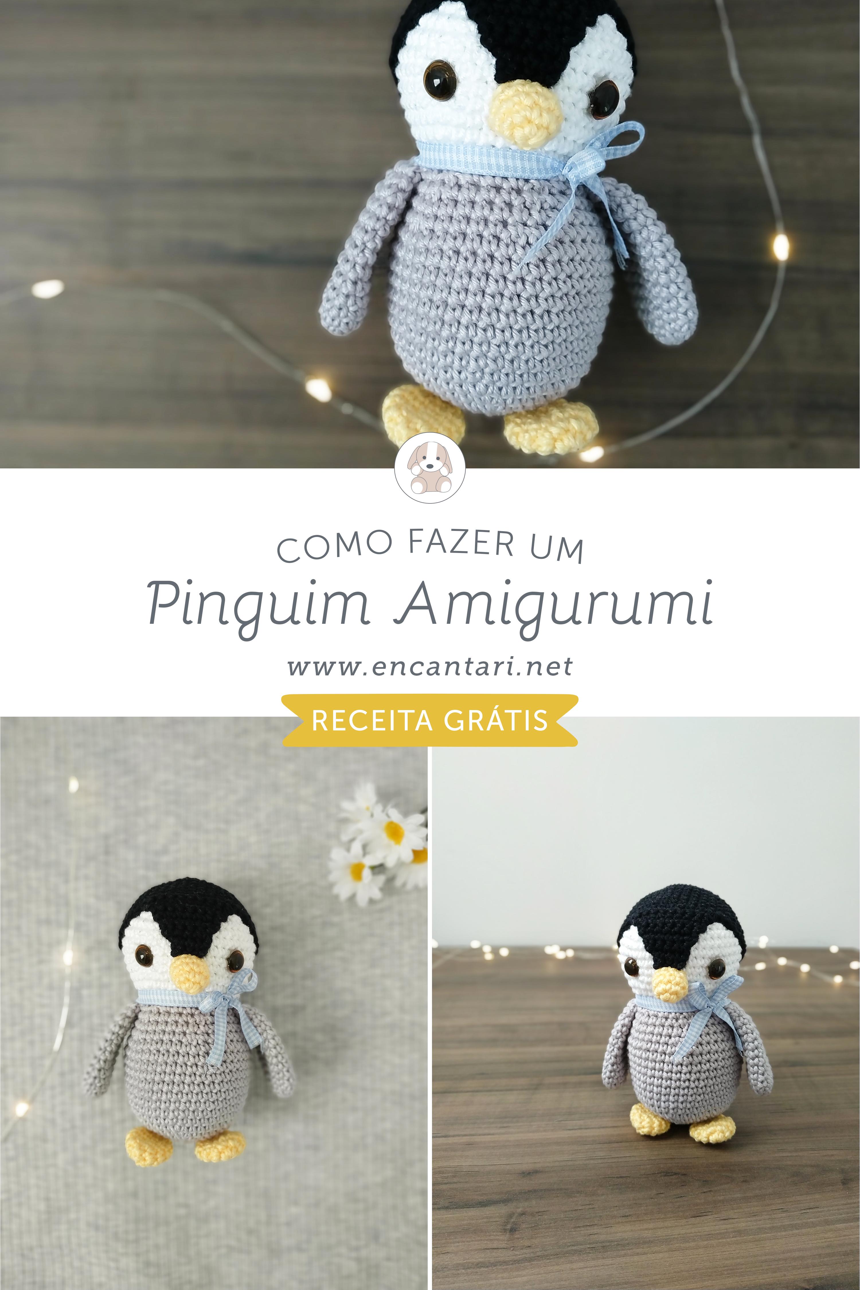 Pinguim de crochê - YouTube   4500x3000