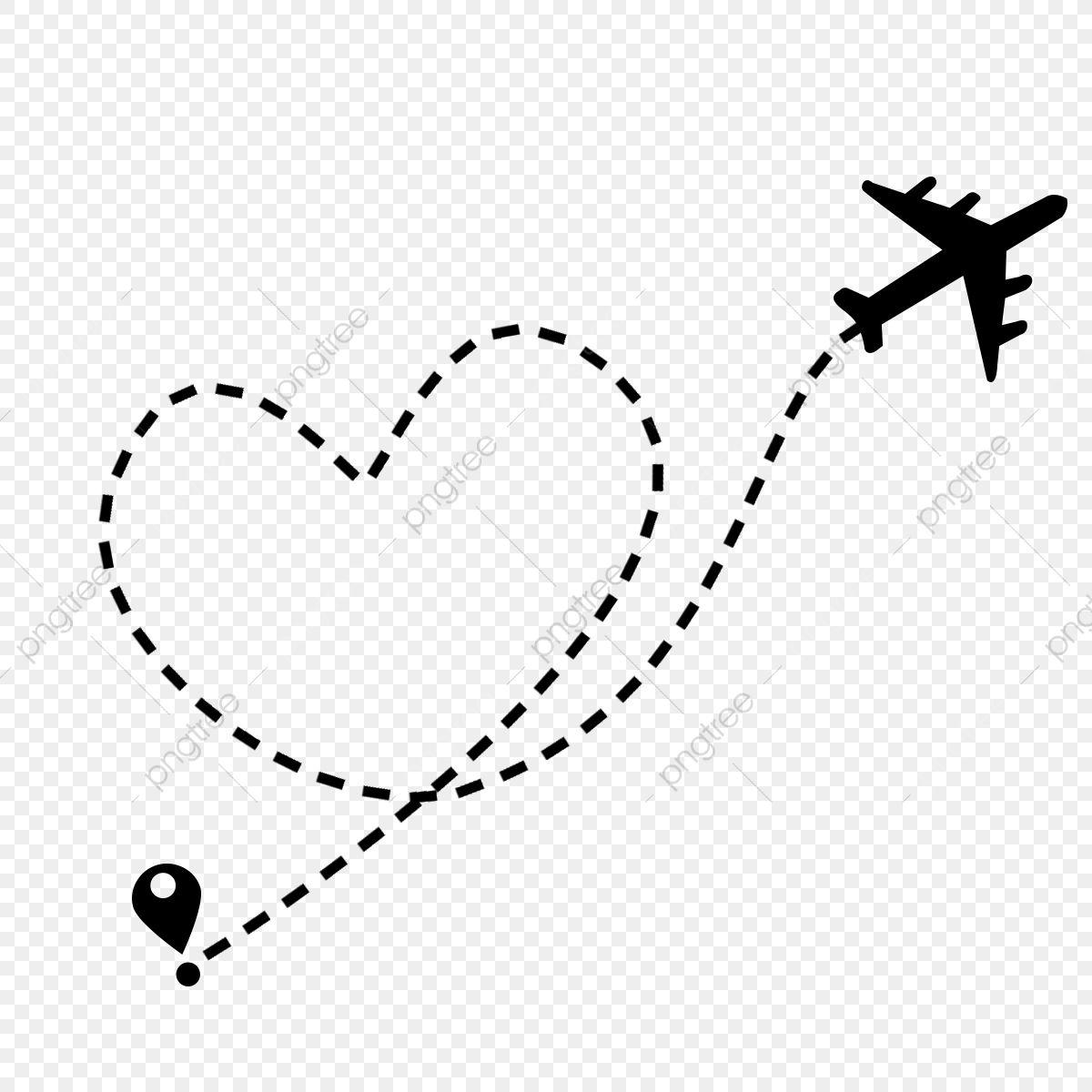 Rota De Voo De Aviao Com Ponto De Partida E Traco De Linha De Traco Aviao Aviao Linha Imagem Png E Psd Para Download Gratuito Plane Flight Travel Stamp Matching Sister