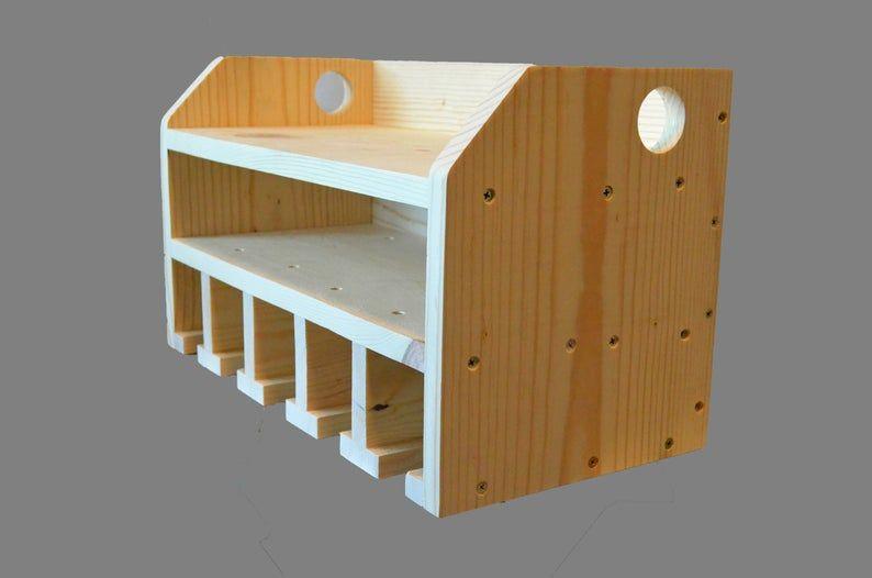 Cordless Drill Shelf Charging Station Wall Mounted Tool Etsy Shelves Cordless Drill Garage Organization Tips