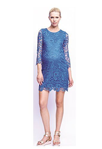 58b2e41b193f1 UrbanMA Womens Maternity Crochet Shift Dress Royal Blue XLarge >>> Check  out this great product.Note:It is affiliate link to Amazon. #PregnancyTips