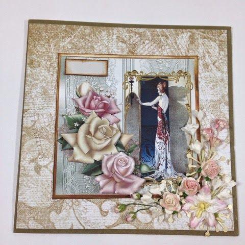 Andersens scrapperier: Et nydelig kort til en fantastisk kvinne ;)