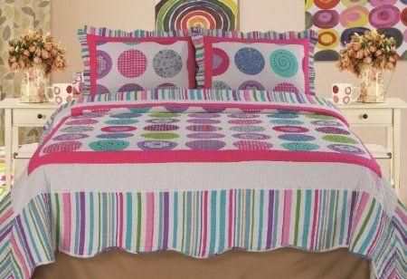 Amazon.com: Home Sensation Stitched Reversible Quilt Sets: Home & Kitchen