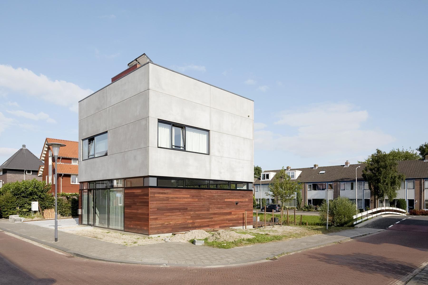 Villa Nieuw Oosteinde Architecture, Modern architecture